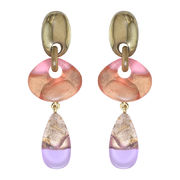 Dominique Denaive Pastel Color Earrings