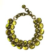 Dominique Denaive Necklace in Greentea color