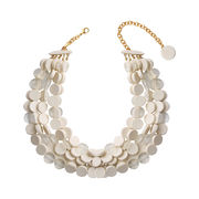 Dominique Denaive Ivory White Necklace