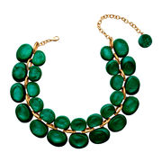 Dominique Denaive Emerald Green Necklace