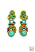 Dori Csengeri Turquoise Summer Earrings