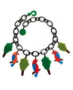 Marion Godart Necklace with Birds and Trees