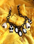 Marion Godart Monochrome Penguin Necklace
