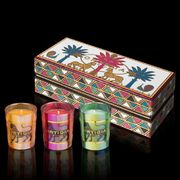 Ortigia Three Scented Candles Gift Box