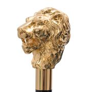 Pasotti Golden Lion Walking Cane