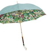 Pasotti Turquoise Flower Umbrella