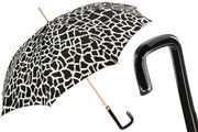 Pasotti Black & White Animal Print Umbrella