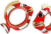 Pasotti Red Fish Bracelet