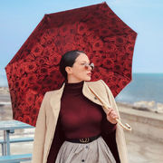 Pasotti Red Roses Umbrella