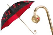 Pasotti Red Poppies Umbrella