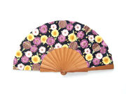 Olelé Purple Floral Hand Fan