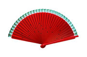 Red Water Melon Hand Fan