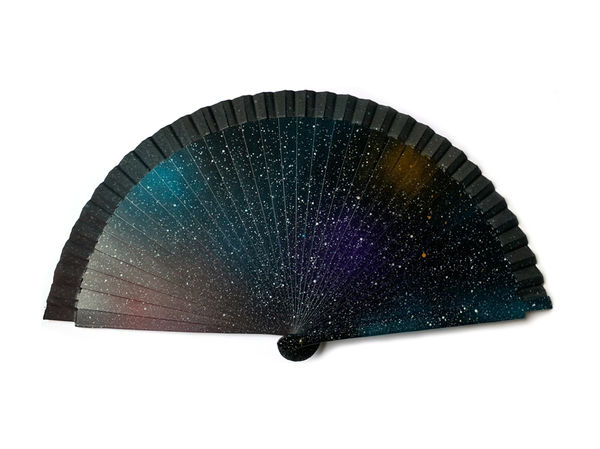 Night Sky Hand Fan