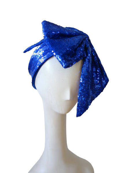 Kirsi Nisonen Glamorous Sequined Bow Headdress