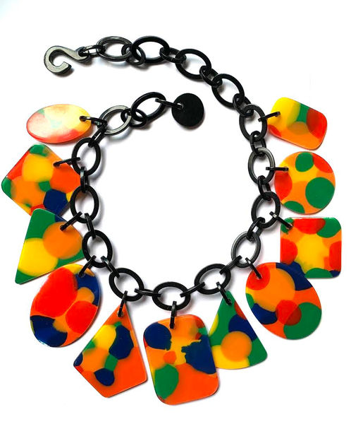 Marion Godart Necklace in Warm Coloration