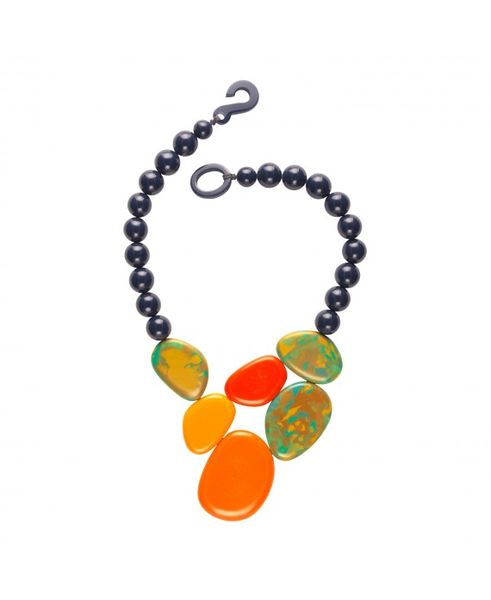 Marion Godart Abstract Statement Necklace