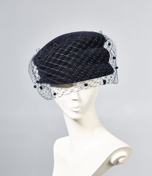 Misa Harada Black Hat with Veil