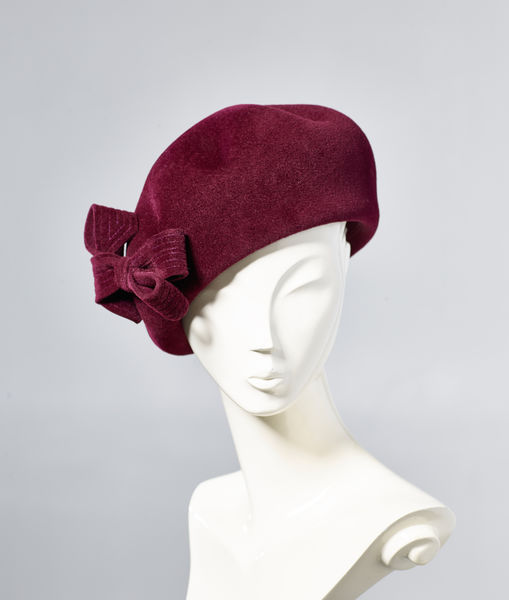Misa Harada Alluring Beret with Bow