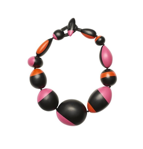 Monies Necklace in Polyester