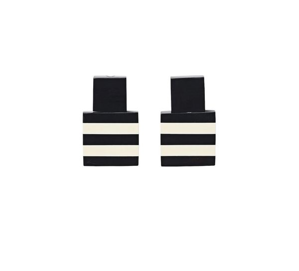Monies Striped Earrings