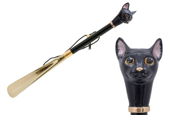 Pasotti Black Cat Shoehorn