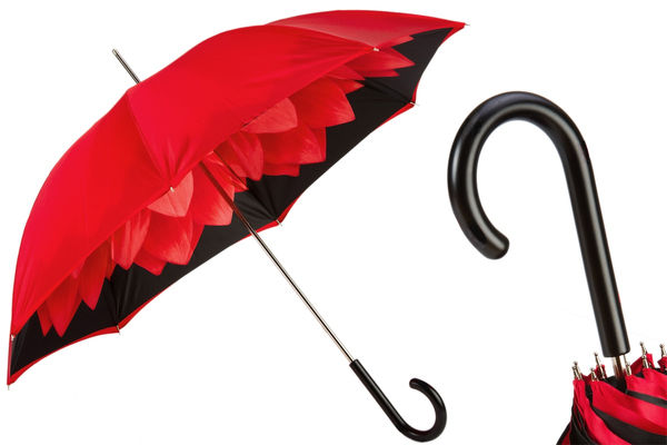 Pasotti Red Dahlia Umbrella