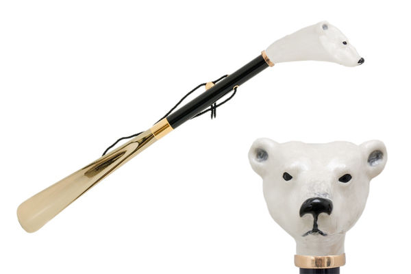 Pasotti White Polar Bear Shoehorn